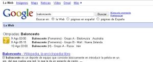 Google en los Juegos Olimpicos
