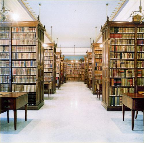 Biblioteca del Instituto. Biblioteca-de-la-real-acade